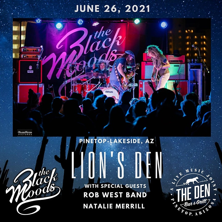 The Black Moods w/ Rob West Band & Natalie Merrill image