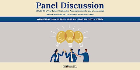 Panel Discussion - COVID-19 a Year Later tickets