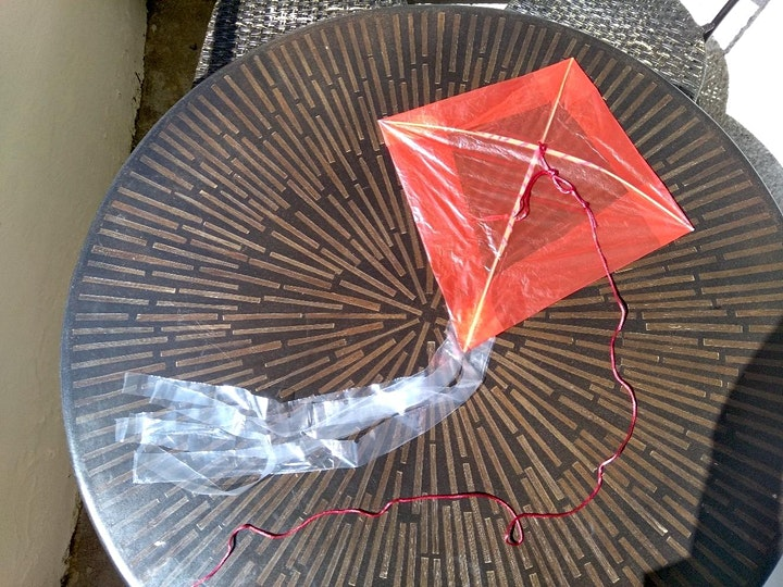 Upcycled Kite Making: Workshop for Families image
