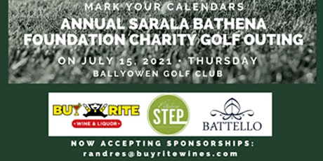 2021 Annual Charity Golf Outing in Support of The Sarala Bathena Foundation tickets