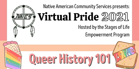 Virtual Pride Queer History 101 tickets