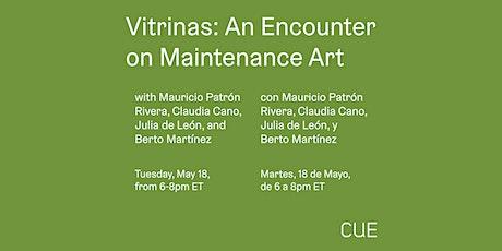 Vitrinas: An Encounter on Maintenance Work tickets