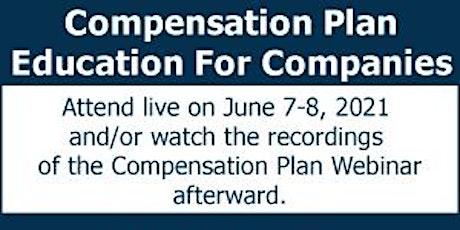 Compensation Plan Conference Webinar tickets