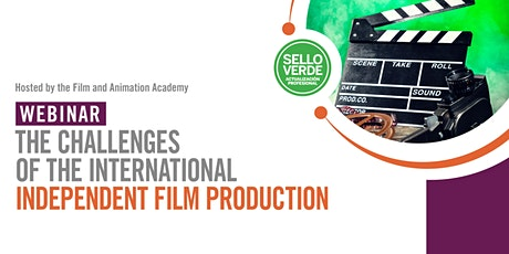 Sello verde: The Challenges of International Independent Film Production tickets