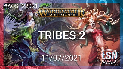 TRIBES 2 -  4 Person 4 Team age of Sigmar Event tickets