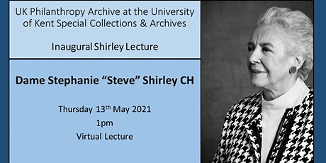 UK Philanthropy Archive Inaugural Shirley Lecture - Dame Stephanie Shirley entradas