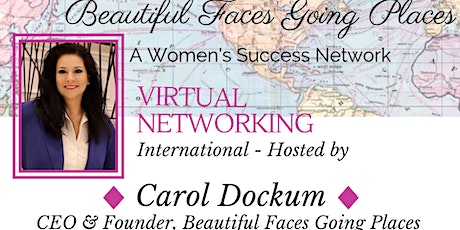 Virtual Networking International - Hosted by: Carol Dockum tickets