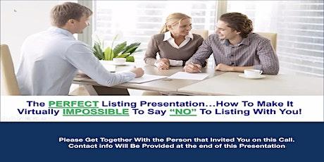 The Perfect Listing Presentation biglietti