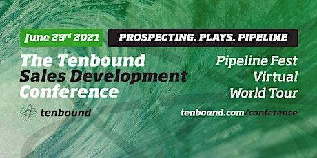 Tenbound Sales Development Conference June 23rd 2021 tickets