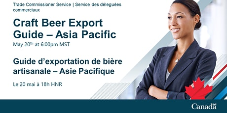 TCS Canadian Craft Beer Export Guide - Asia Pacific tickets
