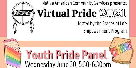 Virtual Pride Youth Pride Panel entradas