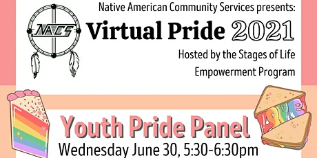 Virtual Pride Youth Pride Panel tickets