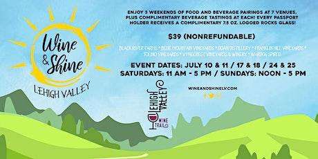 Wine & Shine Lehigh Valley tickets