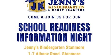 School Readiness Information Night tickets