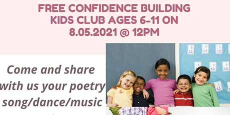 Confidence Building Kids Club tickets