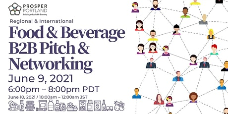 Food & Beverage B2B Pitch & Networking tickets