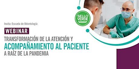 Sello verde: Transformación de la atención al paciente en la pandemia tickets