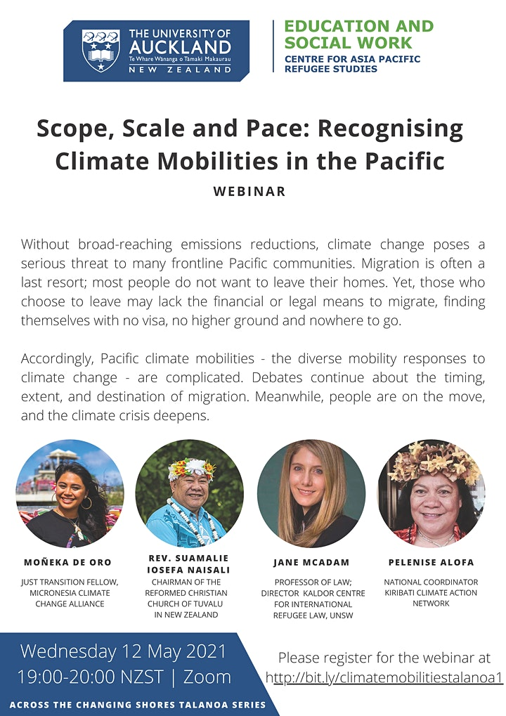 Scope, Scale and Pace: Recognising Climate Mobilities in the Pacific image
