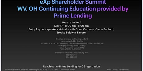 Continuing Education Shareholders Summit tickets