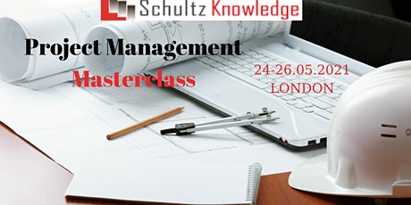 Project management course - 3 days in London tickets