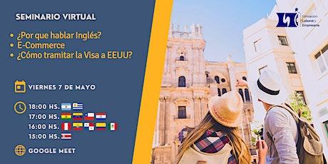 """Seminario Virtual Gratuito: """"Aprender Inglés Hoy"""" entradas"""