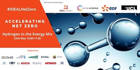 IDEALondon Accelerating Net Zero: Hydrogen in the Energy Mix tickets
