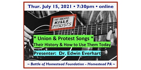 Union & Protest Songs – Their History & How to Use Them Today tickets