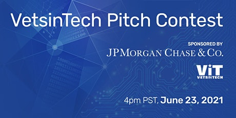 VetsinTech Pitch Contest sponsored by JPMorgan Chase tickets