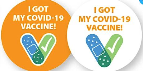 2nd Dose COVID19 Drive-thru Vaccine Clinic tickets