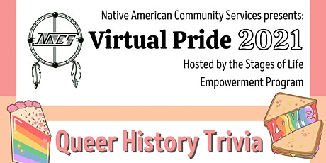 Virtual Pride Queer History Trivia tickets