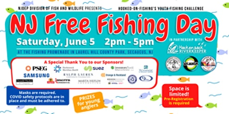 NJ FREE FISHING DAY!! tickets