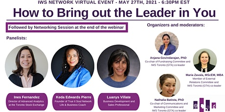Bring out the Leader in You - IWS Tickets