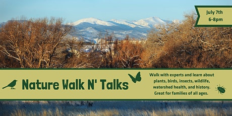 Nature Walk N' Talks - July 7th tickets