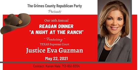 Grimes County Republican Party Reagan Dinner 2021 tickets