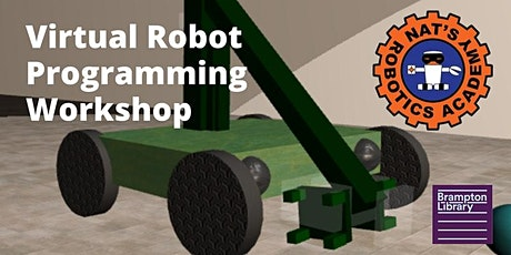 Virtual Robot Programing Workshop (presented by Nat's Robotics Academy) tickets