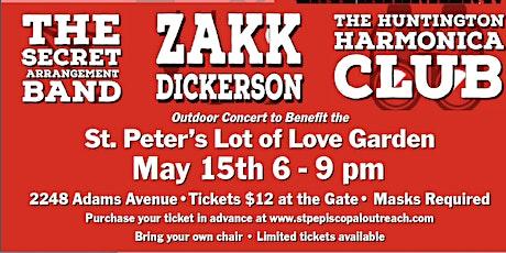Concert in the Garden tickets