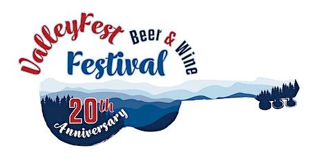 ValleyFest Beer & Wine Festival 2021 tickets