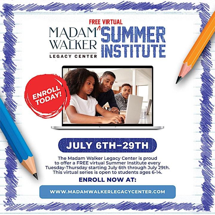 Madam Walker Legacy Center Summer Institute image