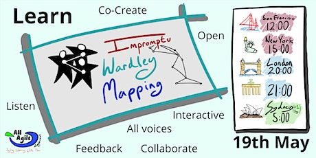 Impromptu Wardley Mapping - Wednesday Wardley Workshop tickets