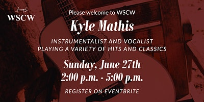 Kyle Mathis on the Patio June 27