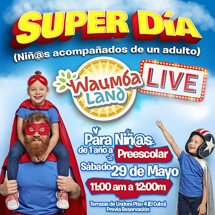 Waumba Land LIVE - Super Día image