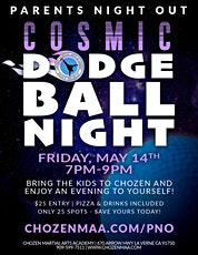 Cosmic Dodgeball Night Parents Night Out tickets