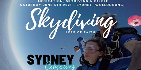 SCG - Leap of Faith - Skydiving, meditation & circle - Freefall 15,000ft tickets