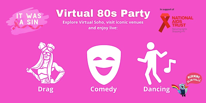 Morning Gloryville & It Was a Sin! Soho in the 80's image