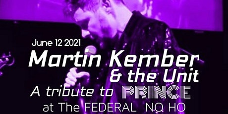 Martin Kember & The Unit, Purple Musicology - a live tribute to PRINCE tickets