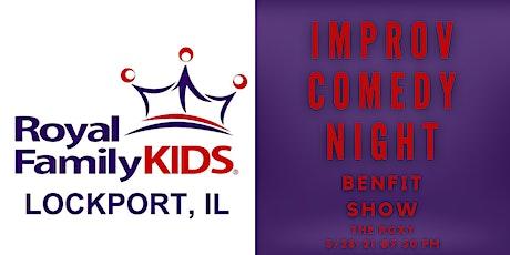 Improv Night Benefitting RFK Lockport tickets