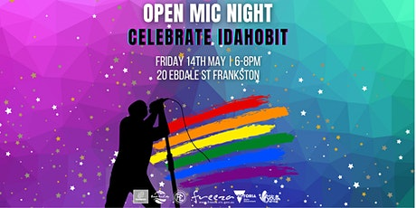 IDAHOBIT Celebration / Open Mic Night tickets