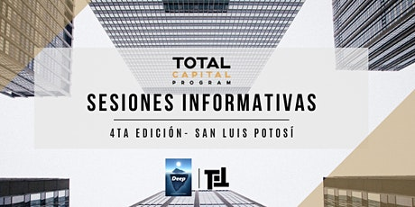 Total Capital Program - San Luis Potos´í Sesiones Informativas boletos
