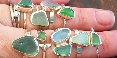 Seaglass Rings -  Discovery Workshop with Jasmine Swales tickets