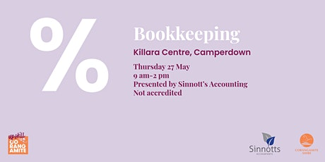 Bookkeeping tickets